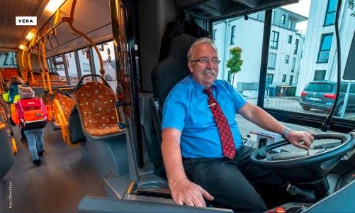 Stadtwerke Rastatt Ein Sternchen Für Den Busfahrer
